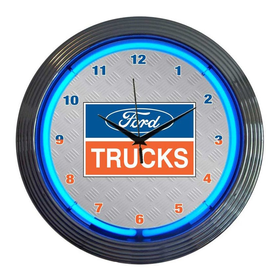 Neonetics Ford Trucks Analog Round Indoor Wall Clock