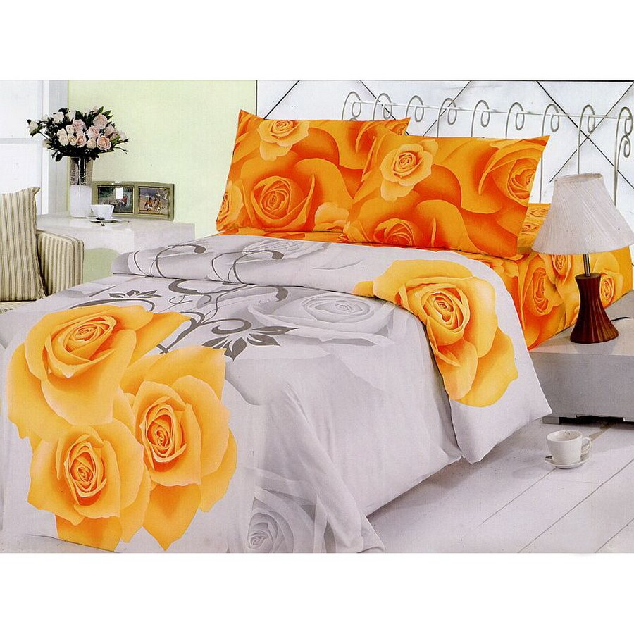 Le Vele Sara 4-PieceMulticolor King Duvet Set