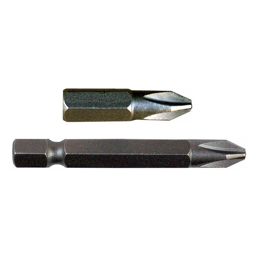 Morris Products 1/4-in x 1-in Phillips Impact Driver Bit