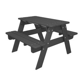 Shop Picnic Tables At Lowescom - Metal wood picnic table