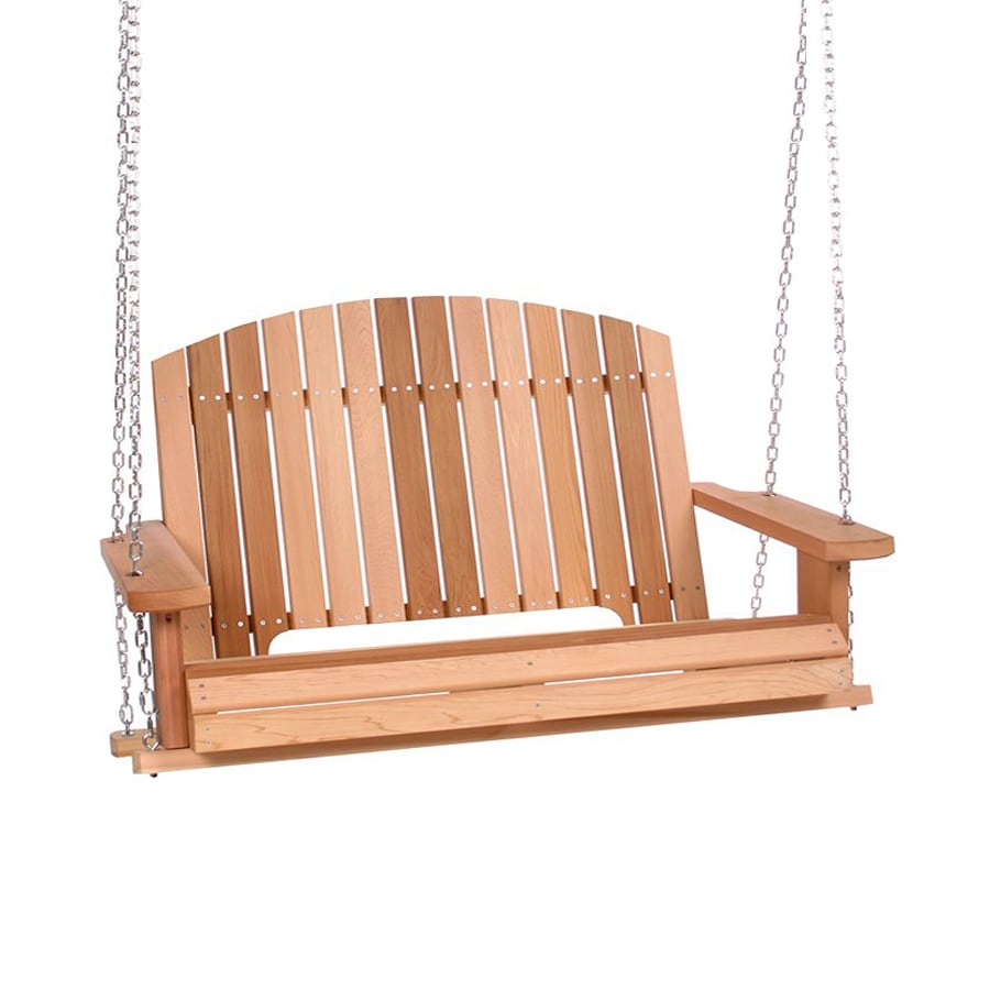 Shop All Things Cedar Natural Porch Swing At