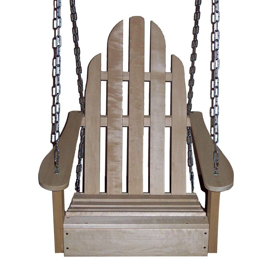 Prairie Leisure Design Unfinished Aspen Porch Swing