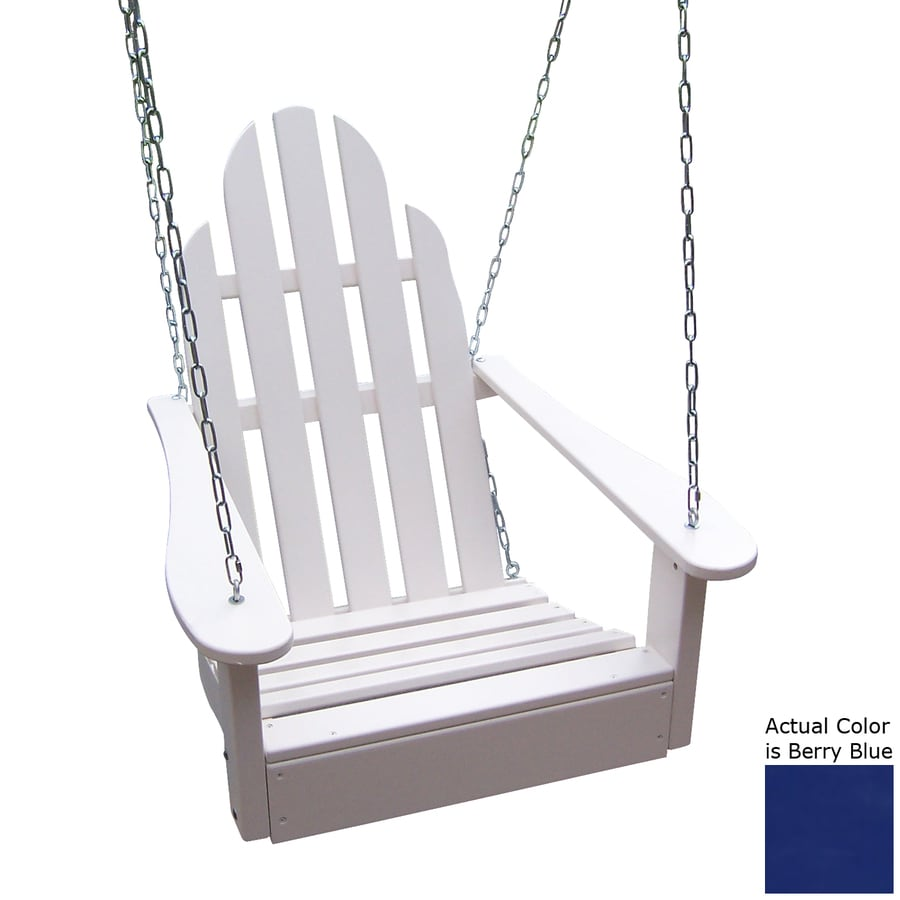 Prairie Leisure Design Berry Blue Porch Swing