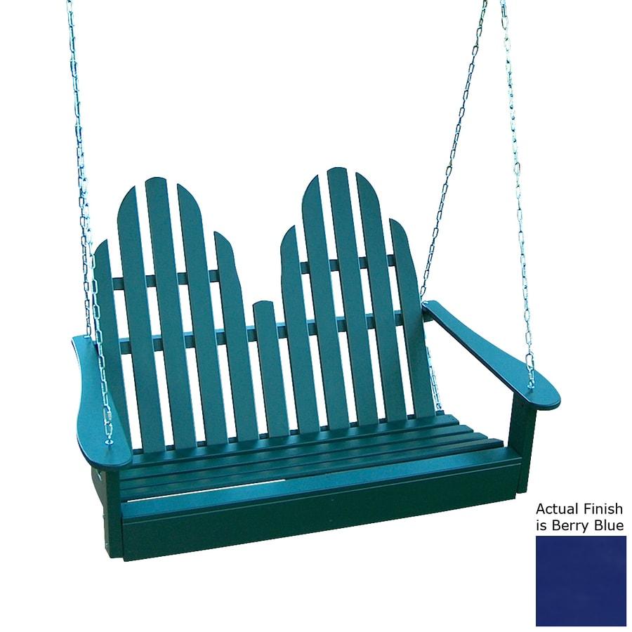 Prairie Leisure Design Berry Blue Porch Swing