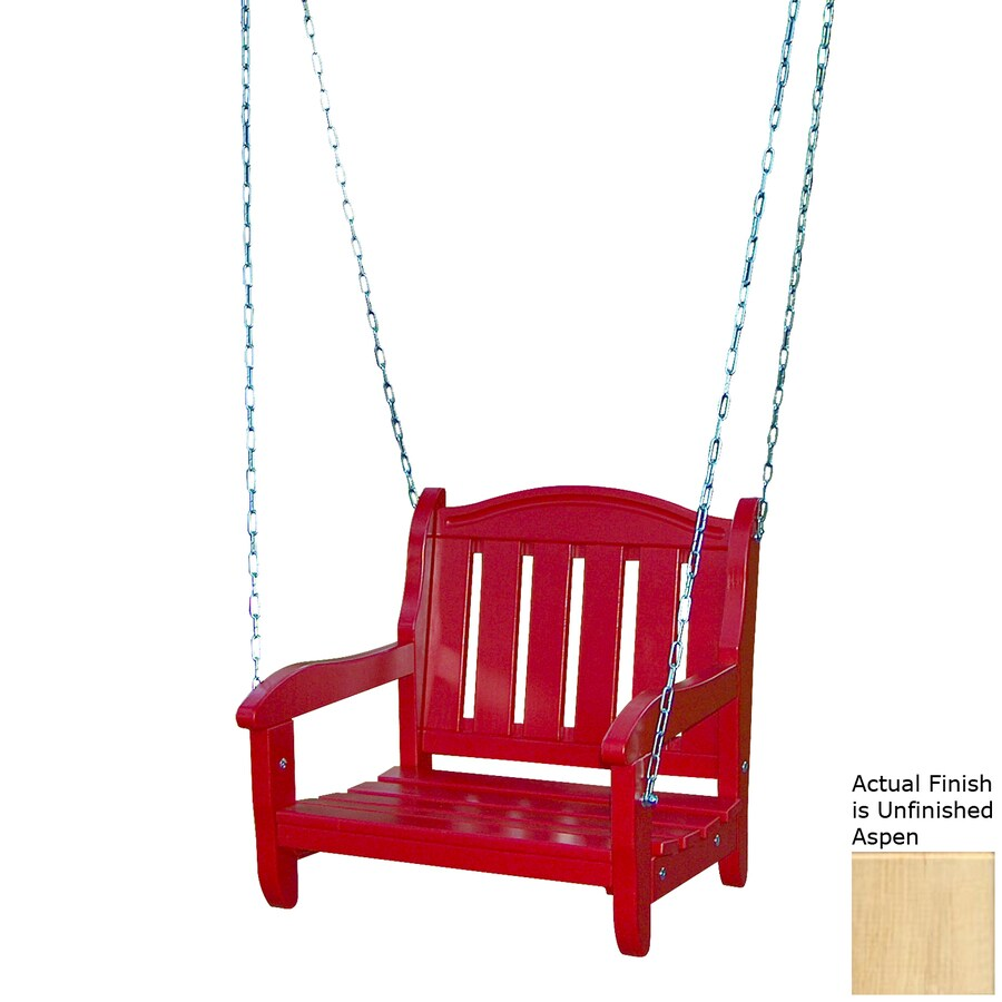 Prairie Leisure Design Unfinished Aspen Porch Swing