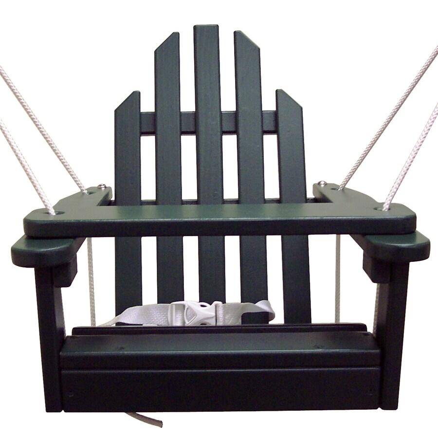 Prairie Leisure Design Hunter Green Porch Swing