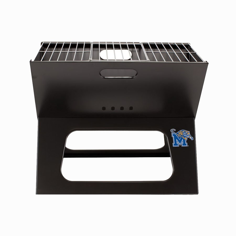 Picnic Time 203.5-sq in Chrome Portable Charcoal Grill
