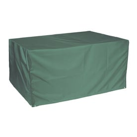 Bosmere Green Polyester Rectangular Dining Table Cover