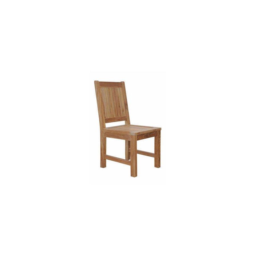Anderson Teak Chester Natural Teak Patio Dining Chair