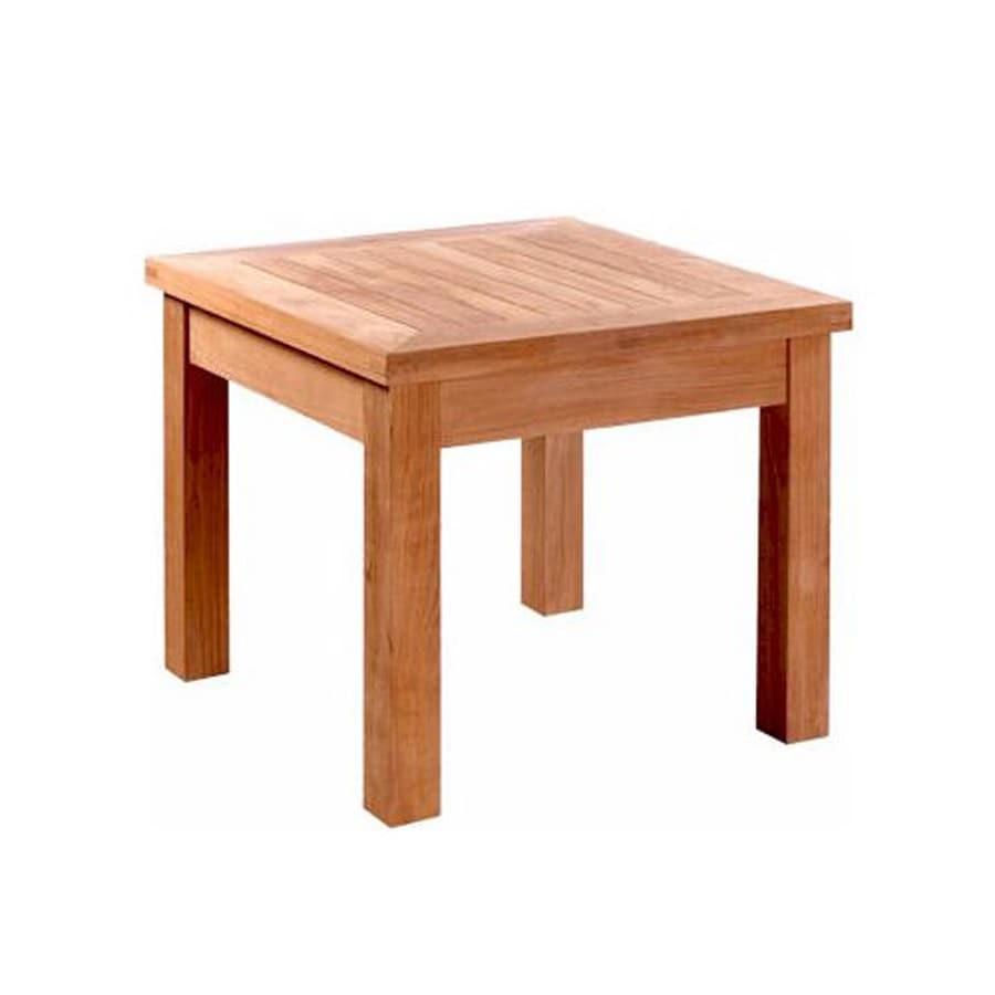 Anderson Teak Bahama 20-in W x 20-in L Square Teak End Table