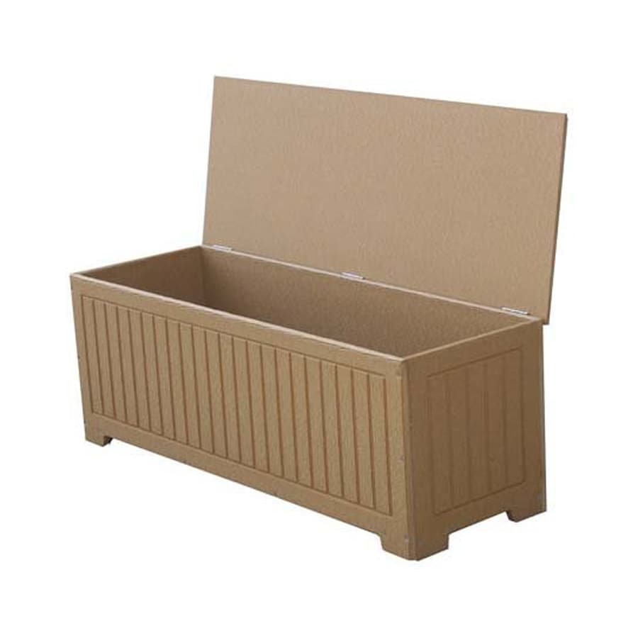 Eagle One Sydney 48-in L x 18-in W 54-Gallon Cedar Polyethylene Deck Box