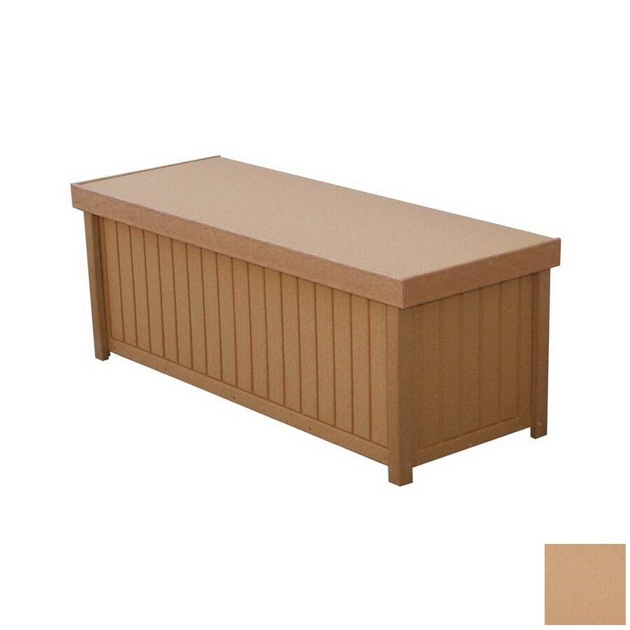 Eagle One Brisbane 48-in L x 19-in W 54-Gallon Cedar Polyethylene Deck Box