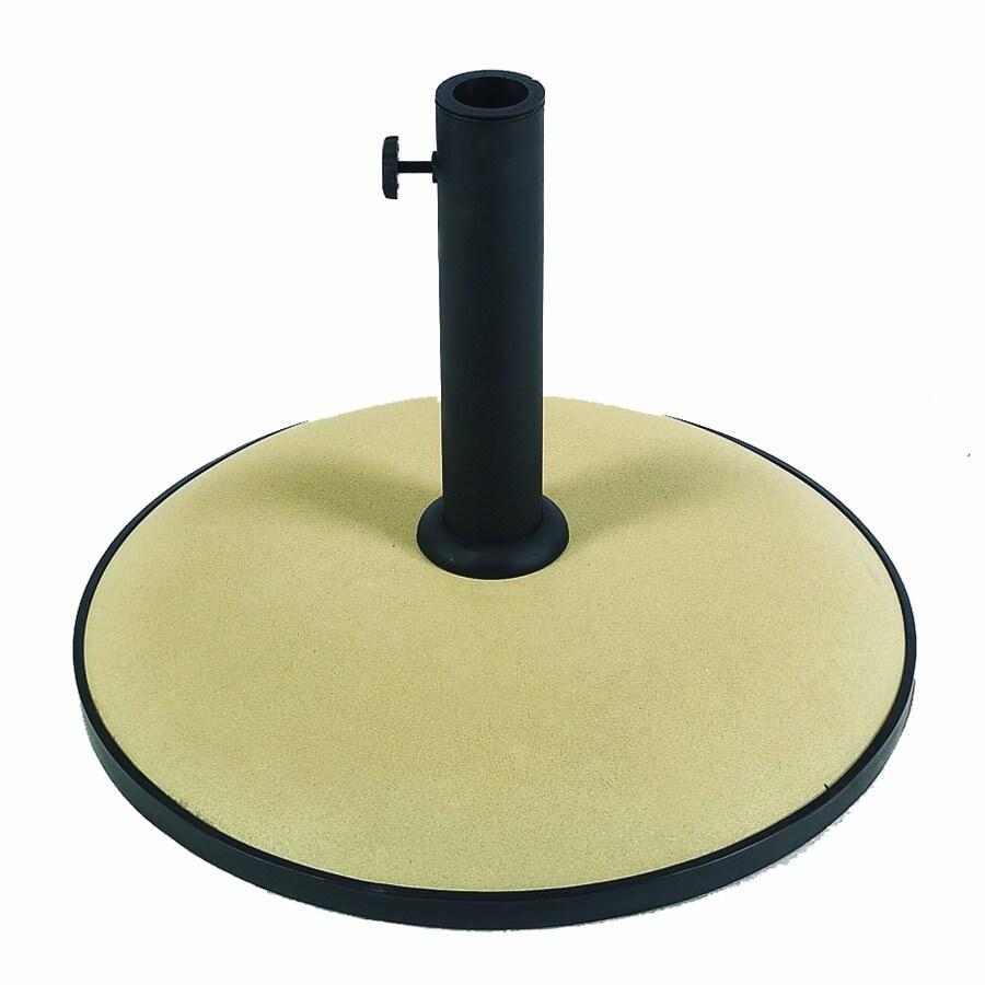 Fiberbuilt Beige Patio Umbrella Base