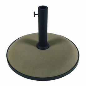 Beau Fiberbuilt Champagne Bronze Patio Umbrella Base