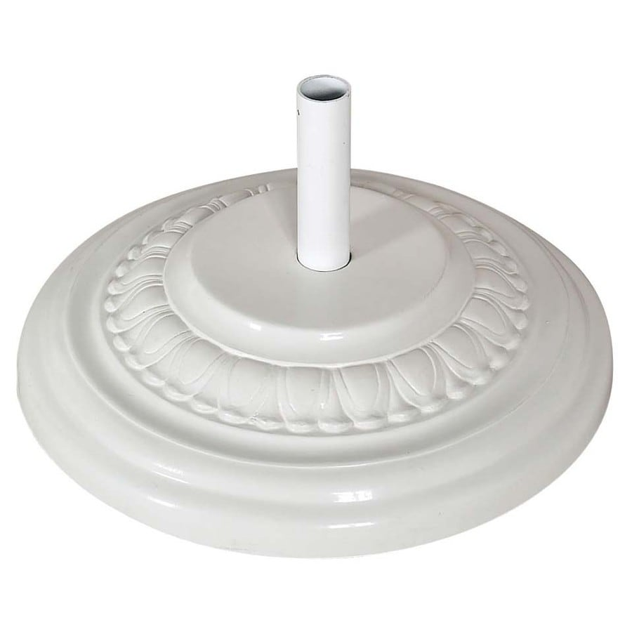 Fiberbuilt White Patio Umbrella Base