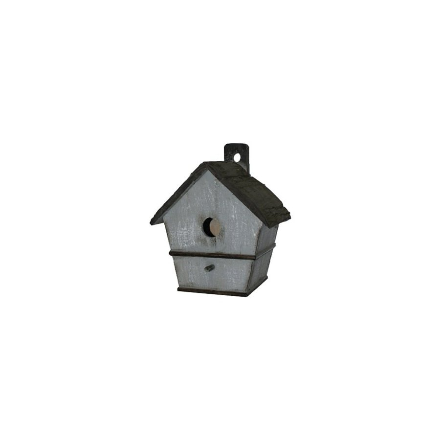 Cheung's 11.5-in H x 9.75-in W x 7.5-in D Blue Bird House