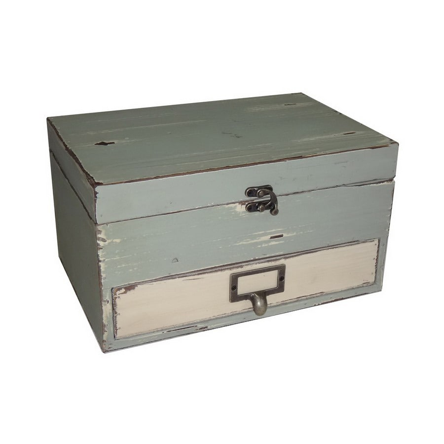 Cheung's Rectangular Box with Lid and Drawer