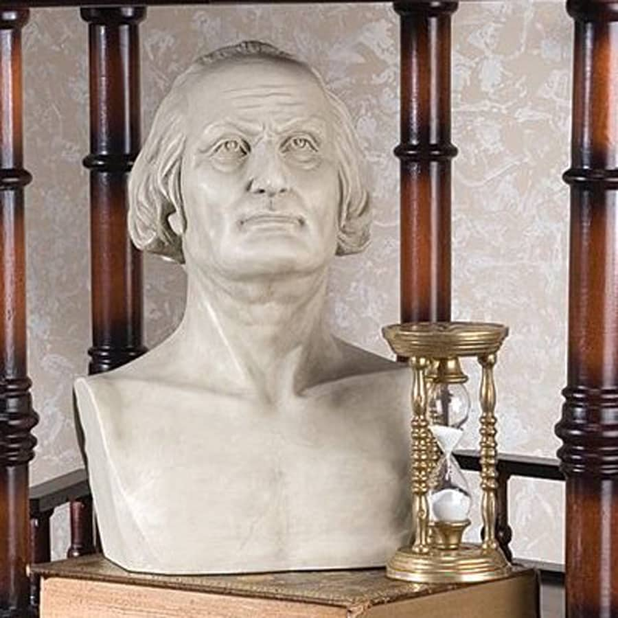 Design Toscano George Washington Hand-Finished Resin Sculpture