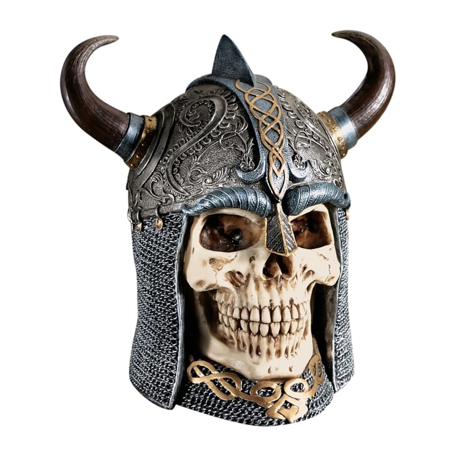 Design Toscano Celtic Skull Warrior Designer Resin Statue