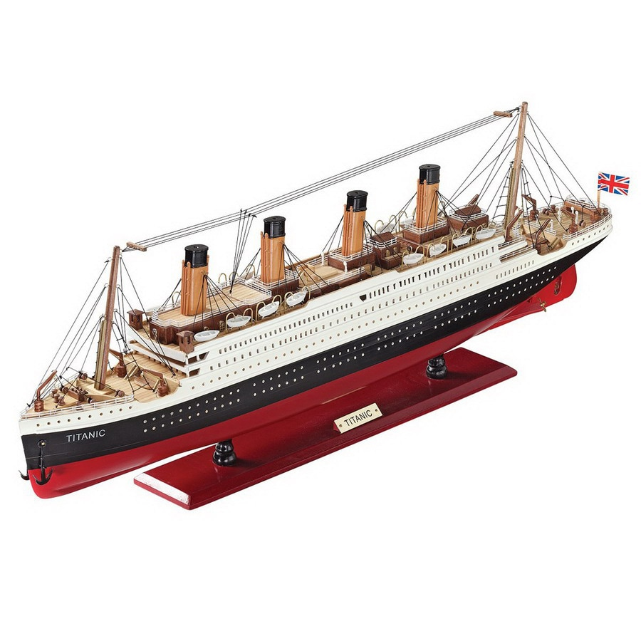 Design Toscano Rectangular the Titanic Collectible Museum Replica