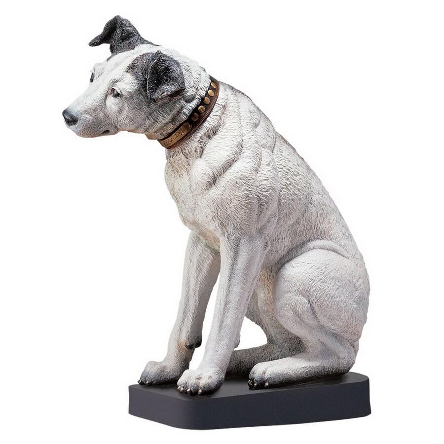 Design Toscano Rectangular Nipper the Rica Dog Statue