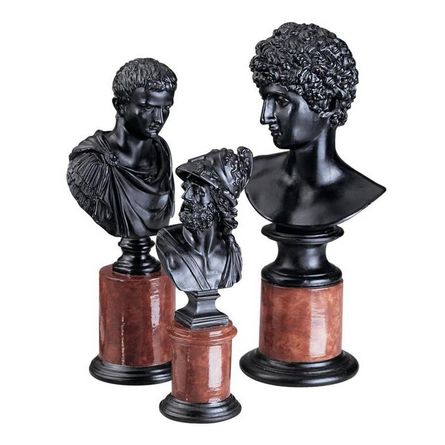Design Toscano Hand Finished Quality Designer Resin Sculpture Bust