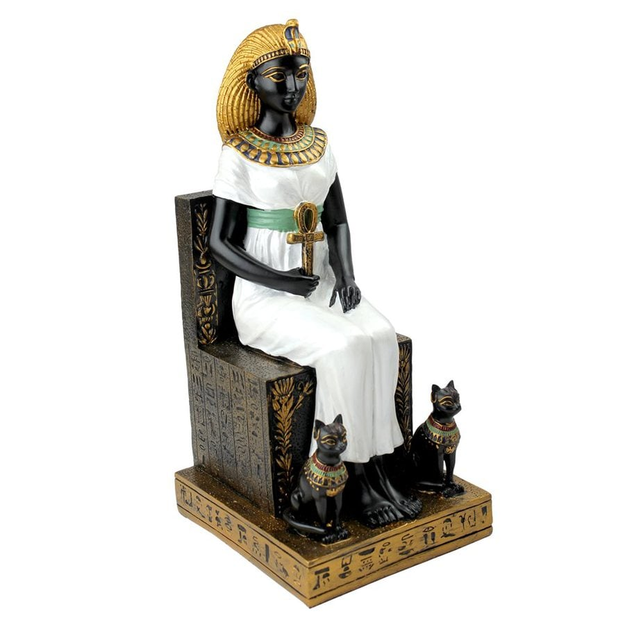 Design Toscano Hand-Painted Resin Egyptian Statue
