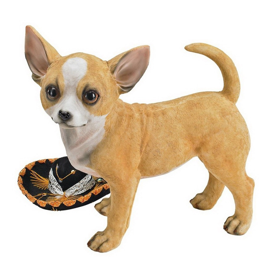 Design Toscano Rectangular Fernando the Chihuahua Sculpture