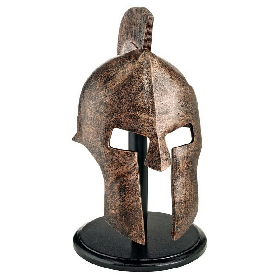 Design Toscano Hand-Finished Resin Helmet