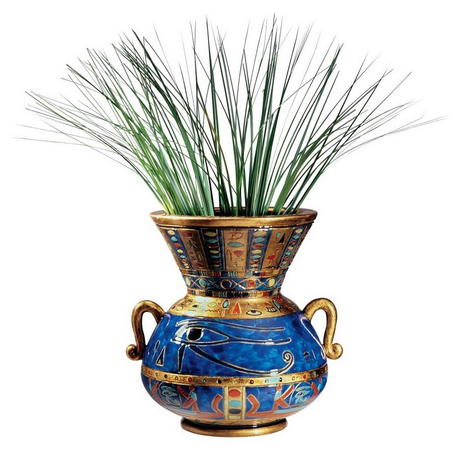 Design Toscano Hand Painted Quality Designer Resin Vase