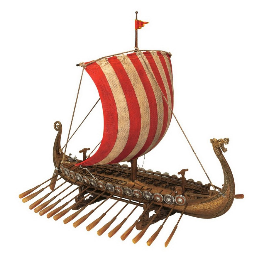 Design Toscano Hand-Painted Resin Ship