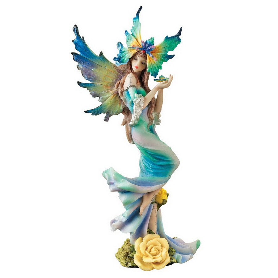 Shop Design Toscano Hand Painted Resin Fairy At Lowes Com