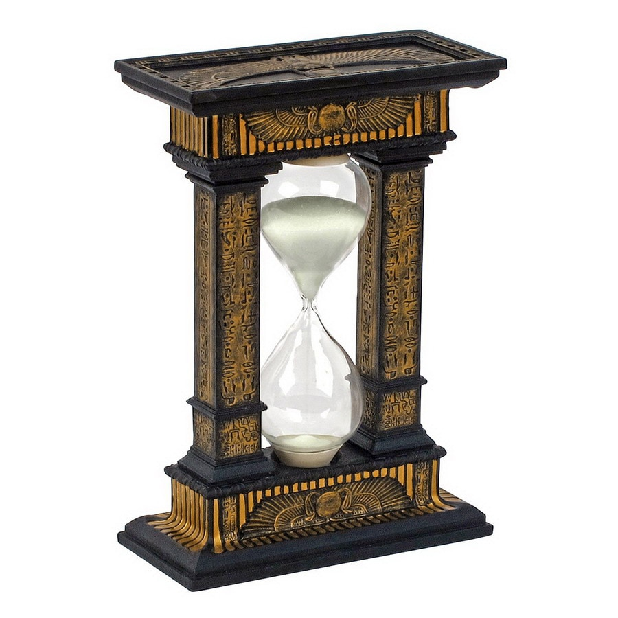 Design Toscano Hand-Painted Resin Hourglass