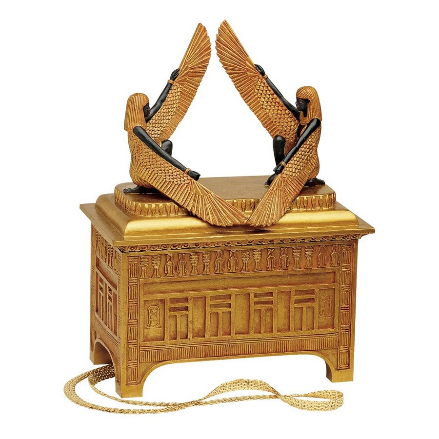 Design Toscano Set of 2 Rectangular the Ark of the Covenant Sculptural Box