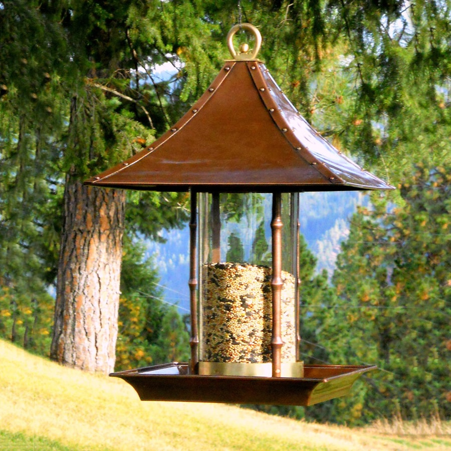 H. Potter Steel Tube Bird Feeder
