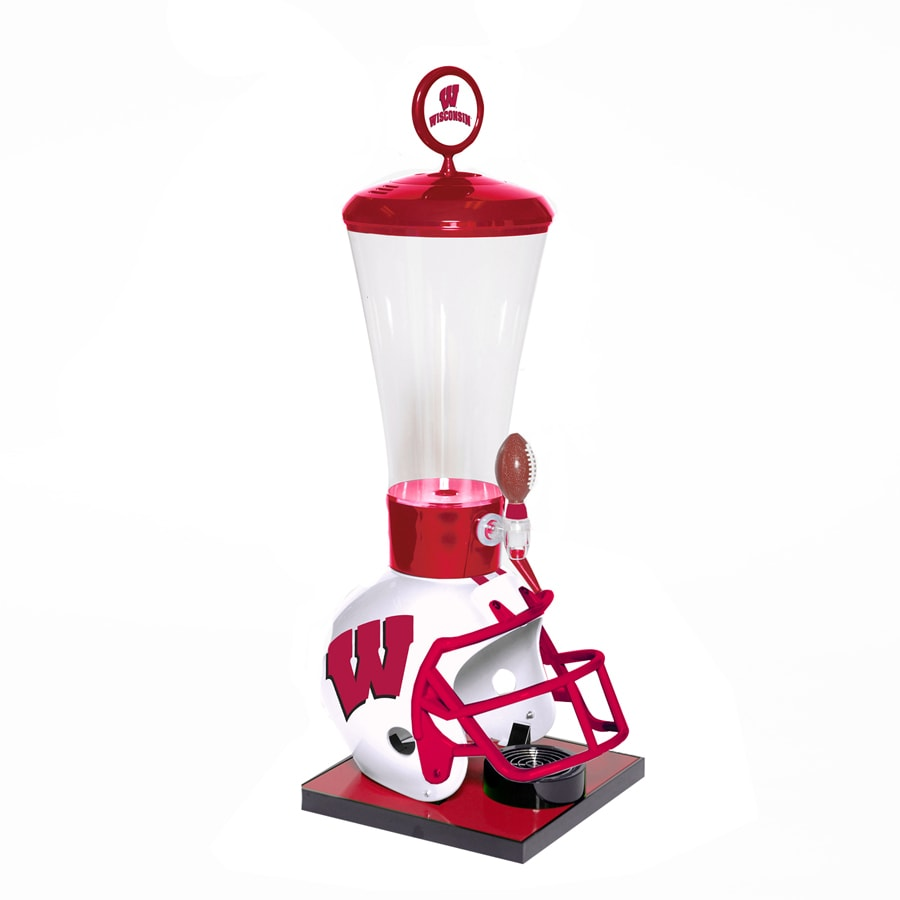 Wild Sports Gallon Wisconsin Badgers Poly Beverage Dispenser
