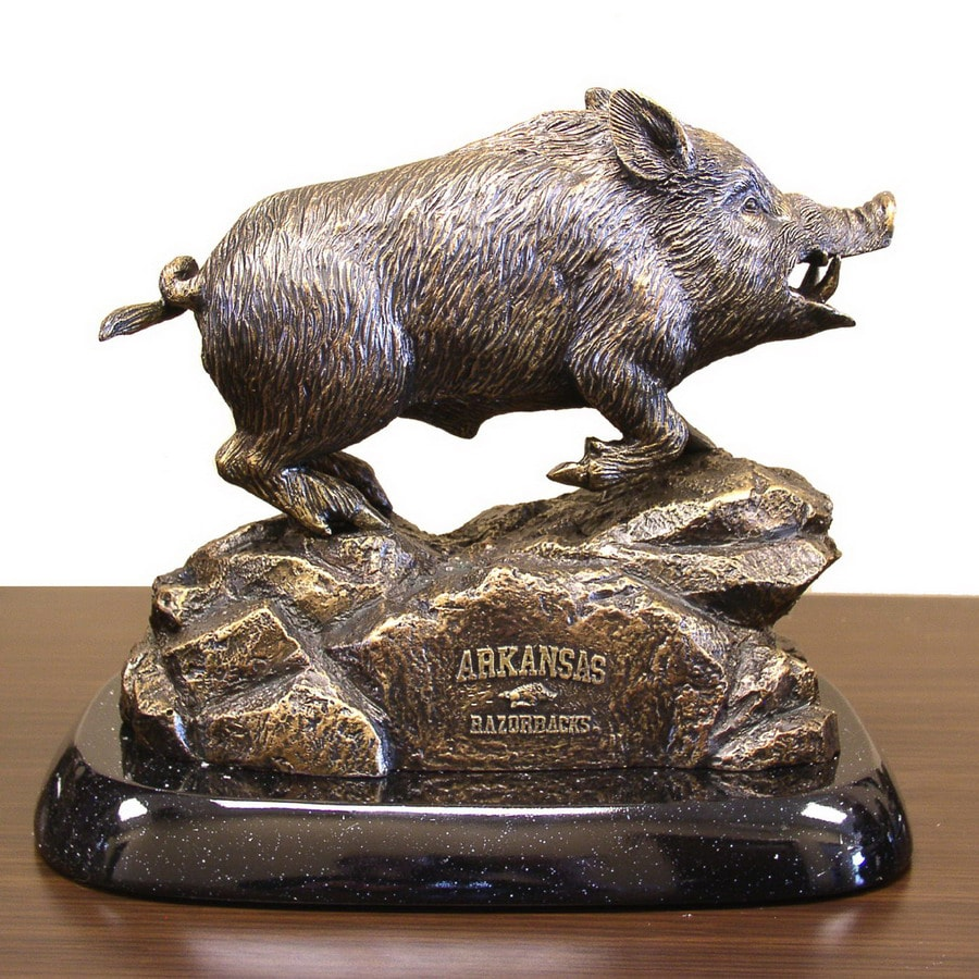 Wild Sports University of Arkansas Razorbacks Alabaster Statue