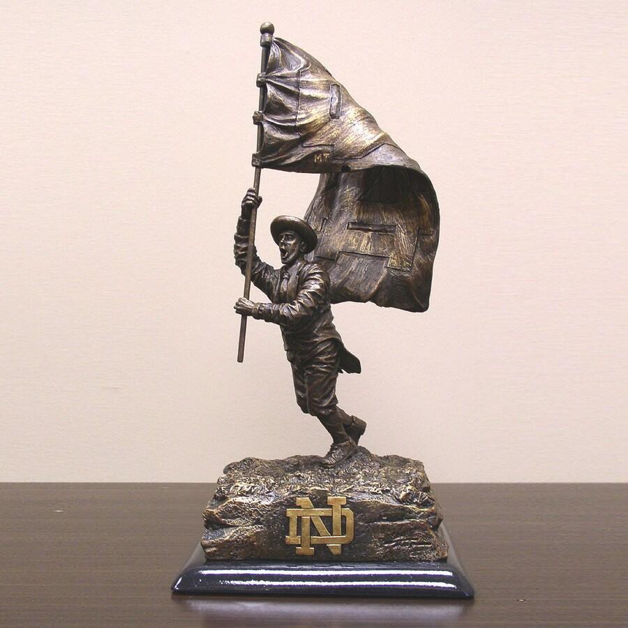 Wild Sports University of Notre Dame Fighting Irish Alabaster Statue