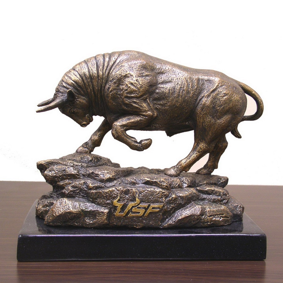 Wild Sports University of South Florida Bulls Alabaster Statue