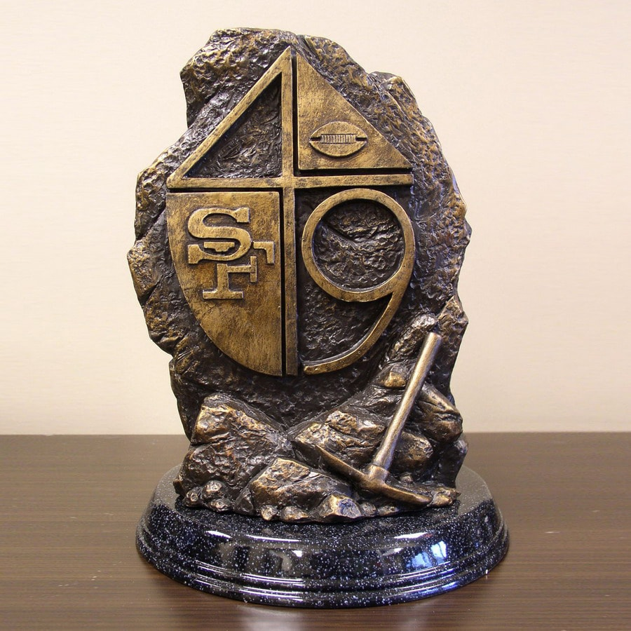 Wild Sports San Francisco 49ers Alabaster Statue