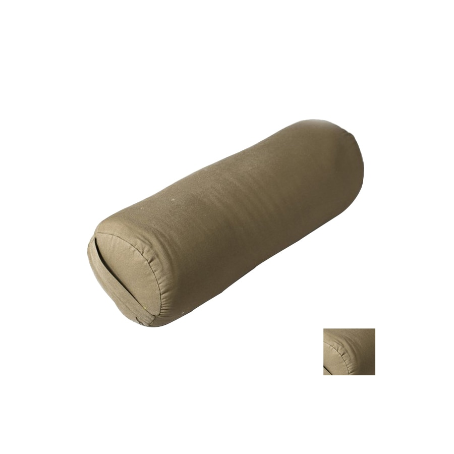 J FIT Green Round Yoga Bolster