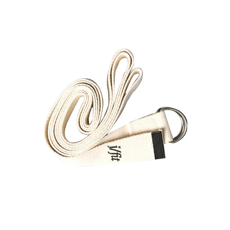 J FIT Cream Yoga Strap