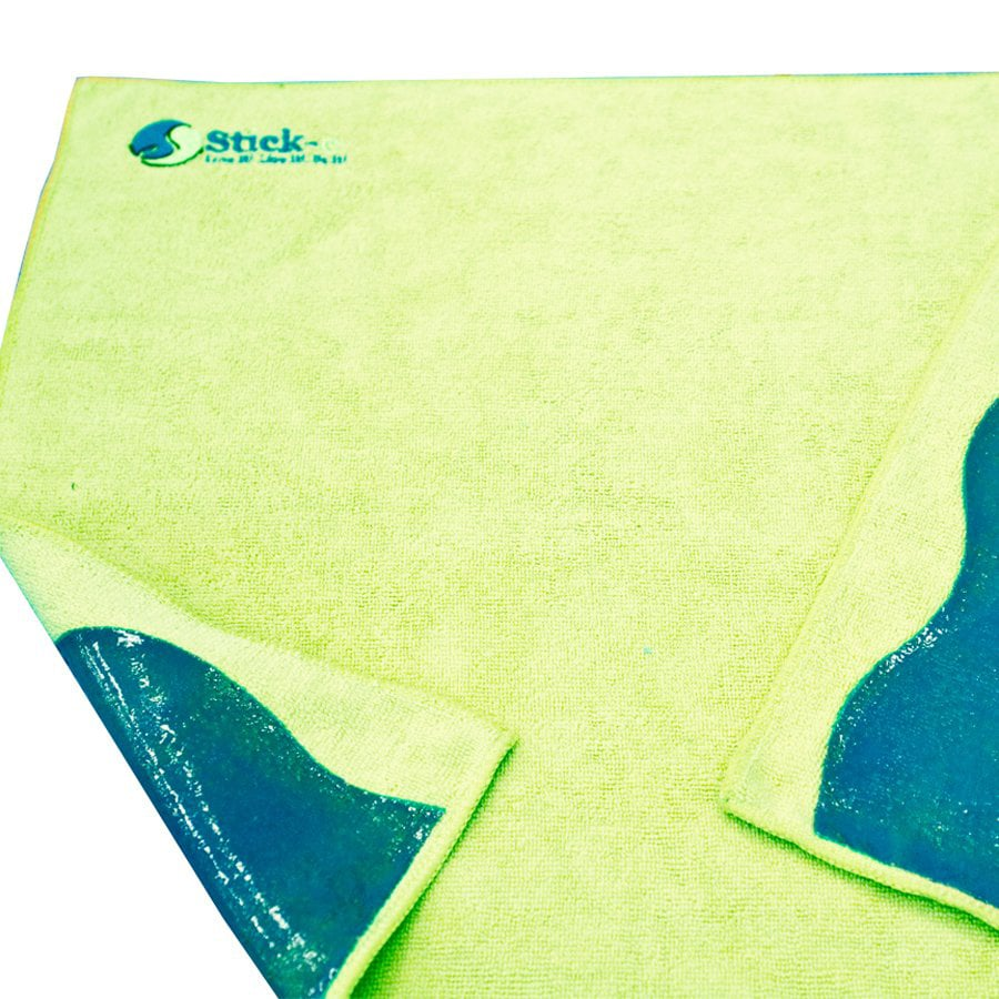 Stick-e Green Yoga Towel