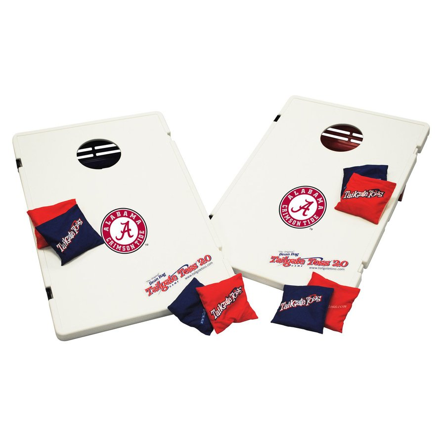 Wild Sports Alabama Crimson Tide Outdoor Corn Hole Party Game with Case