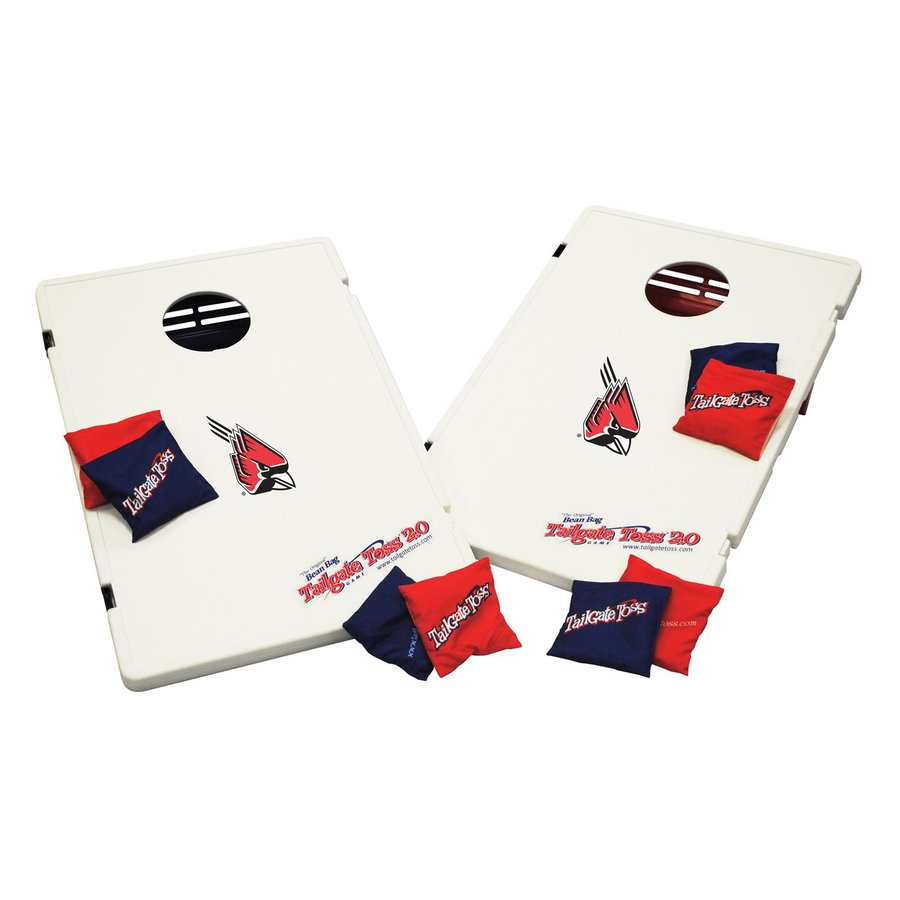Wild Sports Ball State Cardinals Outdoor Corn Hole Party Game with Case