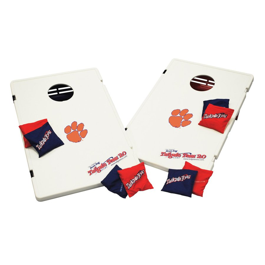 Wild Sports Clemson Tigers Outdoor Corn Hole Party Game with Case