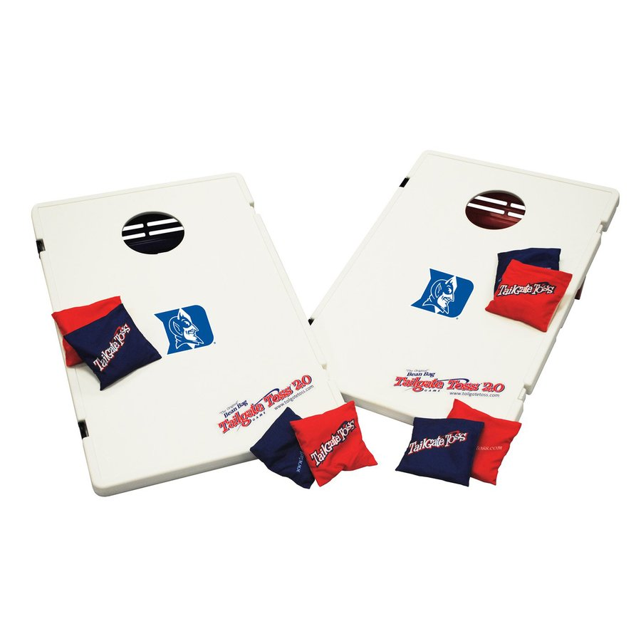 Wild Sports Duke Blue Devils Outdoor Corn Hole Party Game with Case