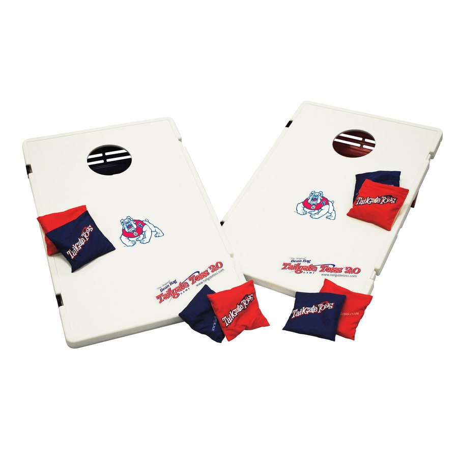 Wild Sports Fresno State Bulldogs Outdoor Corn Hole Party Game with Case