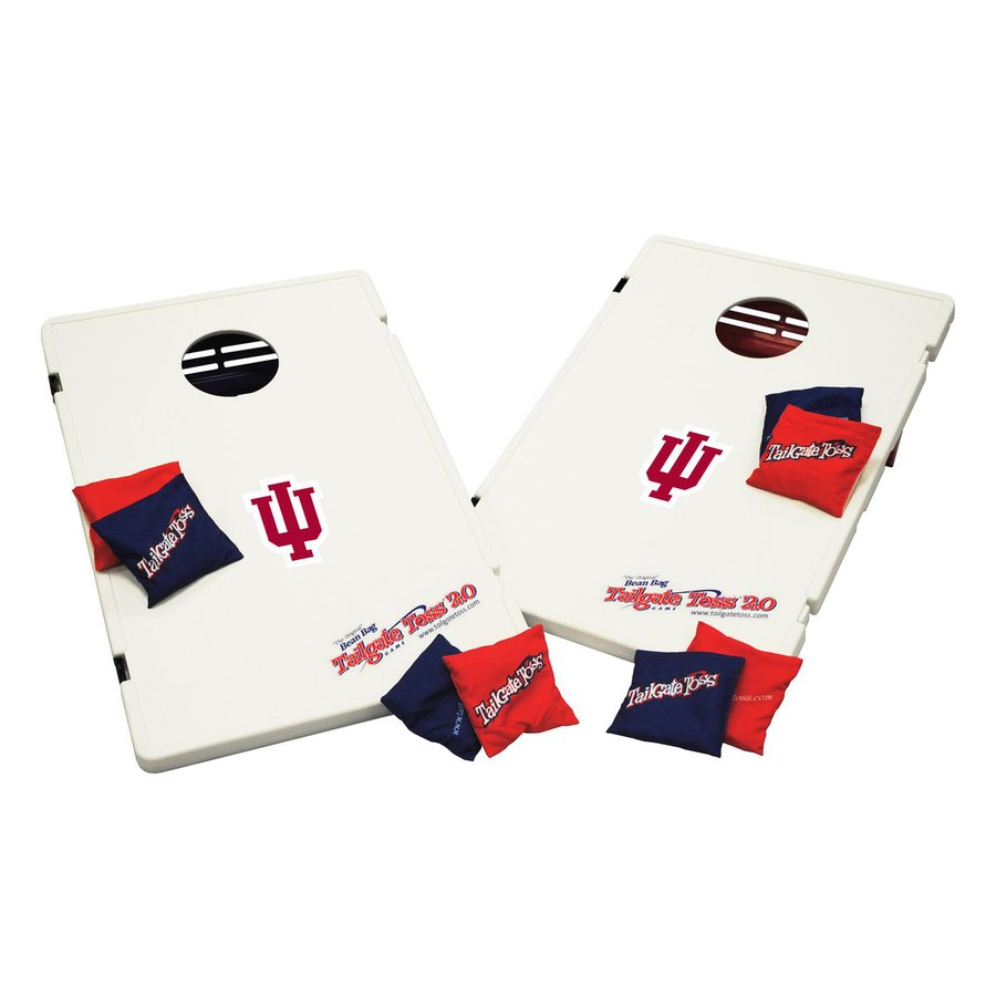 Wild Sports Indiana Hoosiers Outdoor Corn Hole Party Game with Case