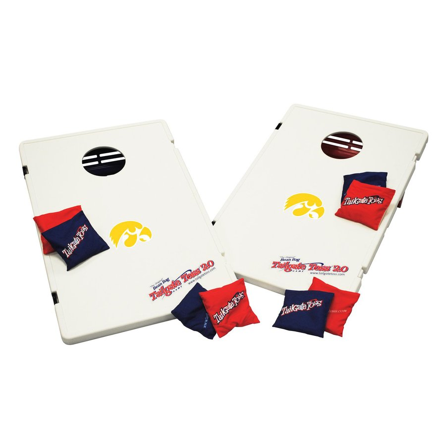 Wild Sports Iowa Hawkeyes Outdoor Corn Hole Party Game with Case